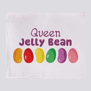 Queen Jelly Bean Throw Blanket