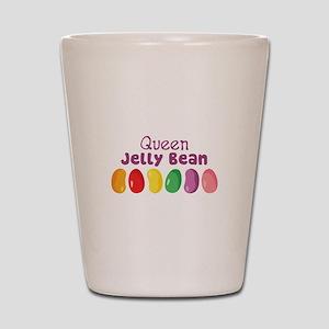 Queen Jelly Bean Shot Glass