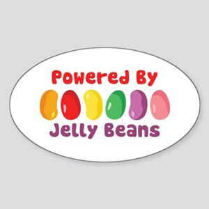 Powered By Jelly Beans Sticker