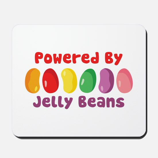 Powered By Jelly Beans Mousepad