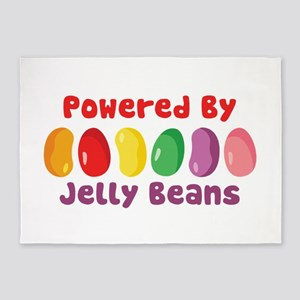 Powered By Jelly Beans 5'x7'Area Rug