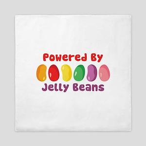 Powered By Jelly Beans Queen Duvet