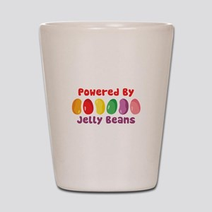 Powered By Jelly Beans Shot Glass