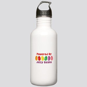 Powered By Jelly Beans Water Bottle