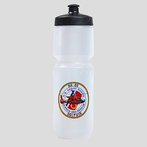 HH-65 Dolphin USCG SAR Sports Bottle
