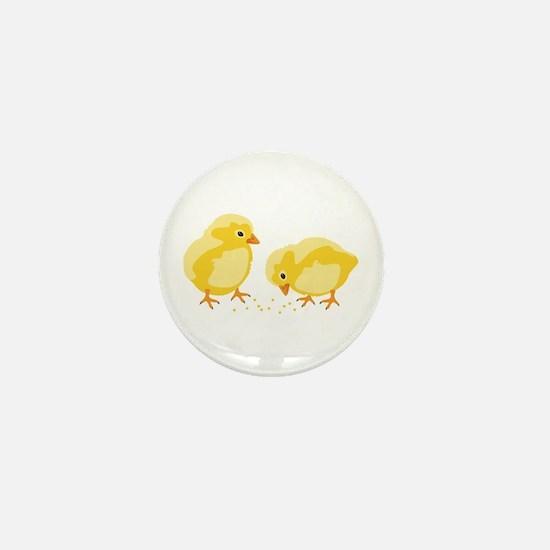 Baby Chicks Mini Button