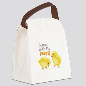 Hangin With My PEEPS Canvas Lunch Bag