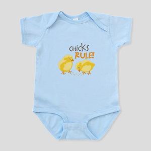 Chicks RULE! Body Suit
