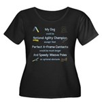 Agility Almost Brag Women's Plus Size Scoop Neck D