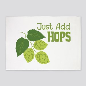 Just Add HOPS 5'x7'Area Rug