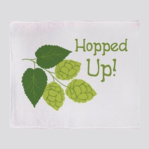 Hopped Up! Throw Blanket