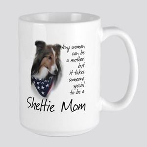 Sheltie Mom #1 Large Mug