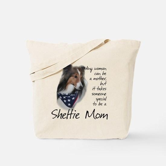 Sheltie Mom #1 Tote Bag