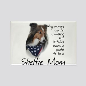 Sheltie Mom #1 Rectangle Magnet