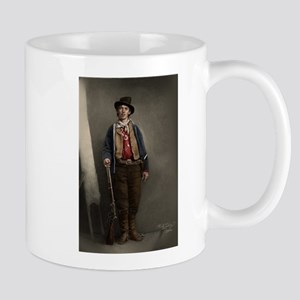 Fully Restored Billy the Kid Color Mug