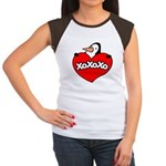 Penguin Lover Women's Cap Sleeve T-Shirt