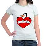 Penguin Lover Jr. Ringer T-Shirt