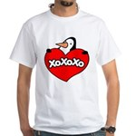 Penguin Lover White T-Shirt
