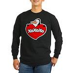 Penguin Lover Long Sleeve Dark T-Shirt