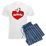 Penguin Lover Men's Light Pajamas