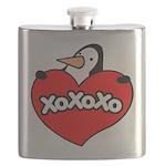 Penguin Lover Flask