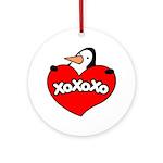 Penguin Lover Ornament (Round)