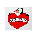 Penguin Lover Throw Blanket