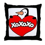 Penguin Lover Throw Pillow