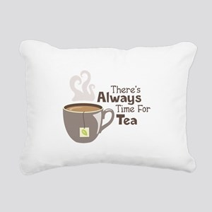 Theres Always Time For Tea Rectangular Canvas Pill