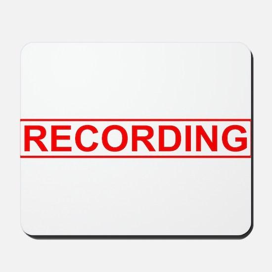Recording Mousepad