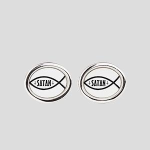 Satan Fish Cufflinks