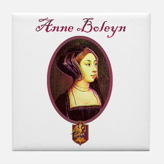 Anne Boleyn - Woman Tile Coaster