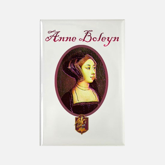 Anne Boleyn - Woman Rectangle Magnet