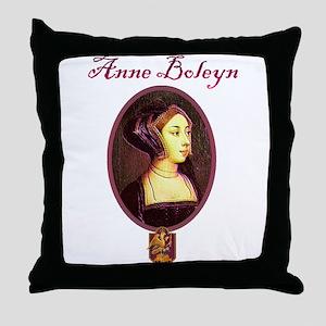 Anne Boleyn - Woman Throw Pillow