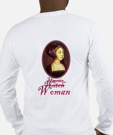 Anne Boleyn - Woman Long Sleeve T-Shirt