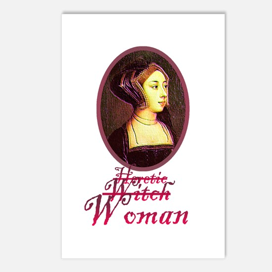 Anne Boleyn - Heretic/Witch/W Postcards (Package o