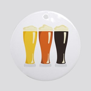 Beer Variety Ornament (Round)