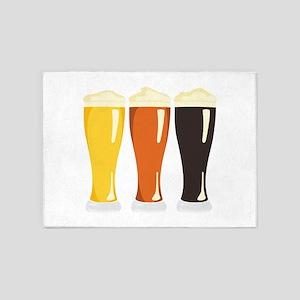 Beer Variety 5'x7'Area Rug