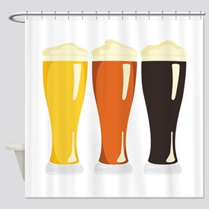 Beer Variety Shower Curtain