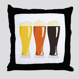 Beer Variety Throw Pillow