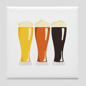 Beer Variety Tile Coaster