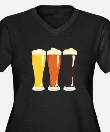 Beer Variety Plus Size T-Shirt