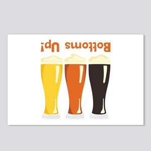 Bottoms Up! Beer Postcards (Package of 8)