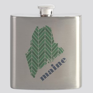 Chevron Maine Flask