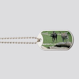 Zebra011 Dog Tags