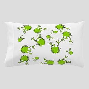 Frog Green Pillow Case