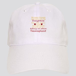 Personalize Transplant Donor Thank You Cap