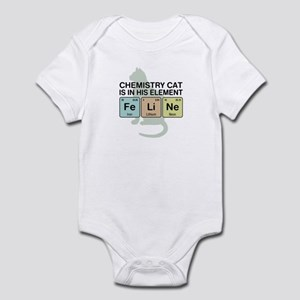 Chemistry Cat Infant Bodysuit