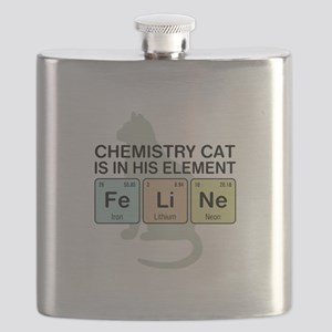 Chemistry Cat Flask