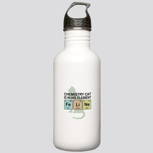 Chemistry Cat Stainless Water Bottle 1.0L